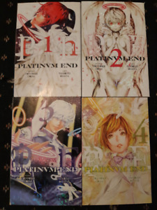 Manga Platinum End Vol 1-4 $10