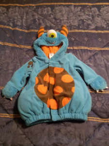 Lil'Monster costume, size 6-12 months(fits larger) - Enfield