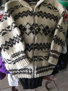 Genuine Cowichan Indian sweater Hand knitted