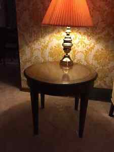 Tables and Lamps