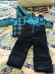 Boys Columbia two piece snow suit