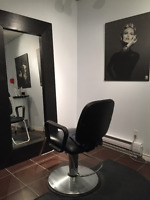 Chair for rent - hairstylist