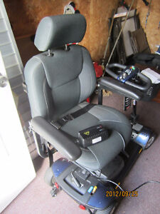 Electric handicapped chair