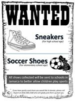 WANTED - Sneakers/Soccer Shoes