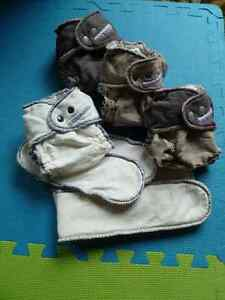 cloth diapers  (like new)