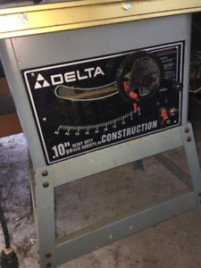 Delta Table Saw, King 12.5 Planer, mitre saw