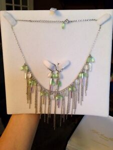 Fifth avenue collection necklace and earring set
