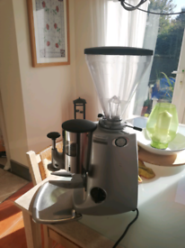 MAZZER (Super Jolly) coffee grinder.
