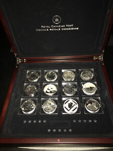 Royal Canadian Mint Fabulous 15 of 2014 coin set Strathcona County Edmonton Area image 1
