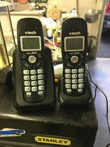 Two cordless phones