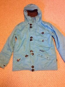 Volcom Men's Large Blue Snow Jacket