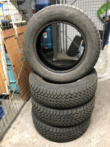 Selling 4 Goodyear Nordic Winter Tires 225/60R17