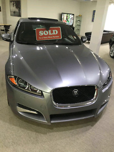 Jaguar XF like new with kow kilometers