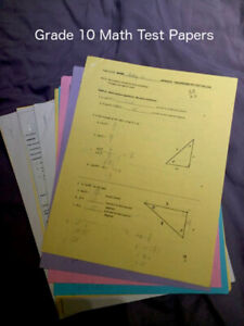 Grade 10 Math | Kijiji in Ontario  - Buy, Sell & Save with Canada's
