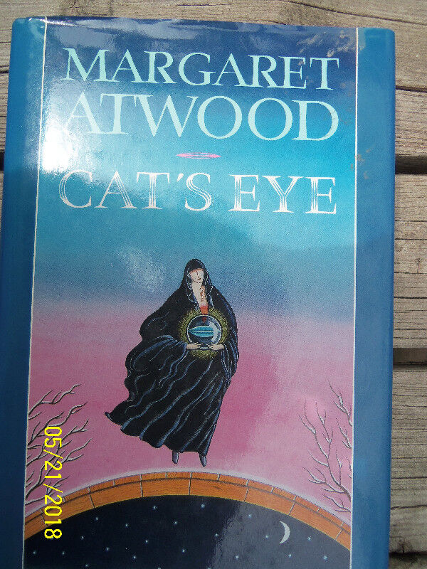 Cats Eye By Margaret Atwood New Hardcover Book With Dj Fiction