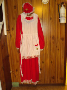 MRS. CLAUS OUTFIT & SANTA ACCESSORIES