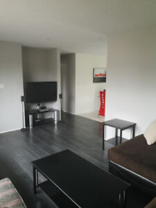 Furnished 2 bedroom main level for rent in quiet East Hill