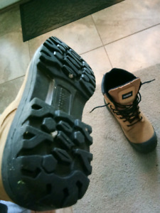 Brand new steel toe boots