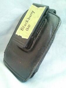 Blackberry Q10 Leather Phone Case/Pouch & Belt Clip