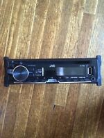 JVC car stereo and JBL sub with amp.