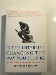 Is the Internet Changing the Way you Think? Book for CCIT UTM