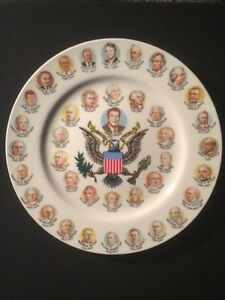 1991 United States Presidents Collector Plate