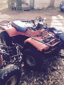 Looking to trade my 89 quad runner 250 4x4