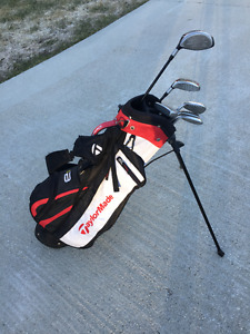Taylor Made clubs with bag