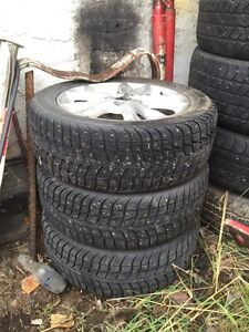 Set of 4 winter tires  Prince George British Columbia image 6