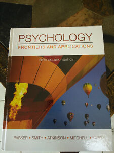 WESTERN Psychology Frontiers and Applications 5th Canadian editi