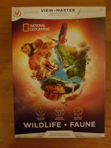 National Geographic Viewmaster VR Virtual Reality Wildlife Exper