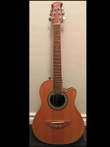 Ovation Applause Travel Acoustic Guitar AA12