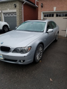 2006 BMW (SILVER) 750I MINT CONDITION $4500