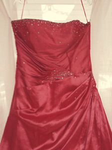 Prom dress size 18 Coral Pink