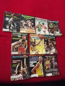 DR. J/JULIUS ERVING PACKAGE DEAL:4 ISSUES OF SPORTS ILLUSTRATED