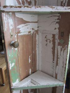 Antique door corner shelf (Woodlawn Area)