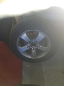 VW t 5 wheels £ 150 pounds