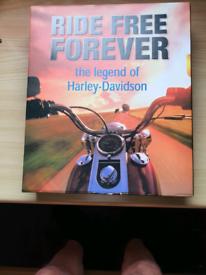 RIDE FREE FOREVER. HARLEY DAVISON