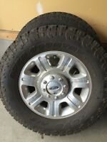 BRAND NEW TOYO A/T LT 295/65R20 with rims