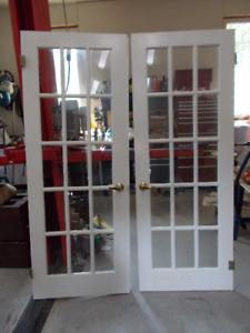 French patio wood doors