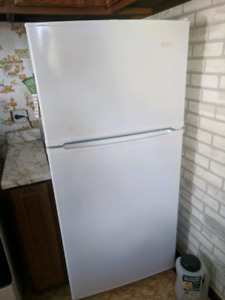 Good condition fridge and range for sale