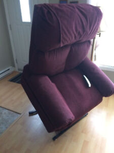 Pride recliner lift chair - large size - heat & massage!