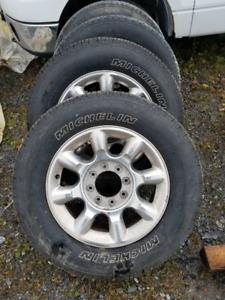Roue F250 2011 et pneu