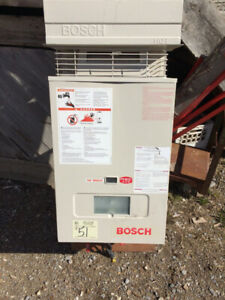 Tankless Water Heater - Bosch