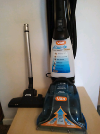 vax rapide deluxe carpet cleaner v-026