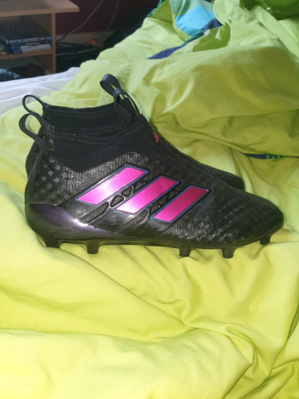 half off 37537 2fe5a Adidas ACE 17+ Black/Pink (Size 8) | in Bishopbriggs, Glasgow | Gumtree
