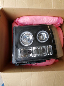 2007-2013 gm truck projector headlights