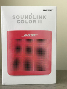 BOSE SOUND COLOR II Bluetooth Speaker.