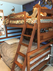 Bunk Bed - Canadian made Hardwood - Crate Designs