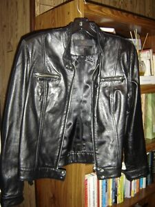 BCIM Collection Leather Jacket